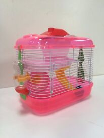 Mini Mouse Cages Pink Orange or Green rrp 18.99