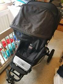 Mountain buggy + one double pushchair *swap 4 bugaboo*