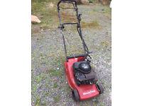 Mountfield Empress 16 self propelled/electric start lawnmower for sale