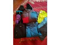 Bundle of ski clothes