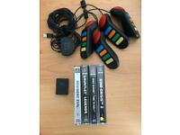 Ps1 games and PS2 accessories