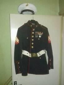 American marine uniform