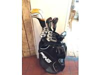 Golf full set incl. Callaway, Ping, XHot, XHot2, G25