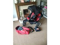 Phil & Ted's Explorer Pram - Double / Twin