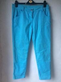 Blue Size 14 skinny jeans