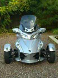 Can Am Spyder RT Manual