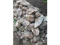 Free stones in different sizes