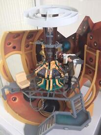 Doctor Who Tardis Playset with Matt Smith Figure and Accessories