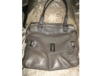 LARGE BROWN MAGGIE MULBERRY BAG.