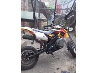 Mini moto for sale runs mint starts up first / second pull ticks over mint and got key