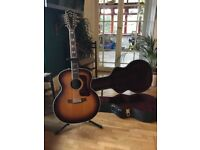 Guild F-512 12 string guitar with dtar pickup 2009. very good condition