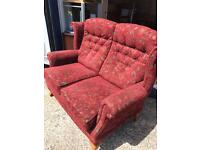 Lovely condition 2 seater sofa FREE DELIVERY PLYMOUTH AREA
