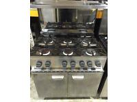 Parry 6 burner commercial gas cooker in a very good condition