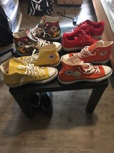 Men shoes Nike and converse
