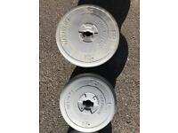 Vinyl weight Plates