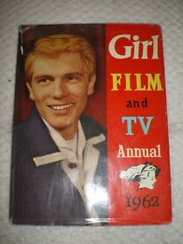 """FILM AND T.V. ANNUAL. """" GIRL 1962"""""""