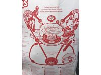 Giggle bugs 360 degree activity baby bouncer