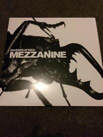 MASSIVE ATTACK MEZZANINE LP DOUBLE 180 GRAM VINYL IMMACULATE CONDITION CAN POST UK