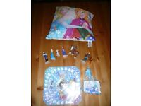 Frozen figures and game