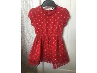 Red Dress - 18-24 months