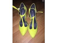 Size 5 Lime Green Heel £5
