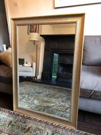 Exc Cond - Beautiful Ornate Gold Mirror