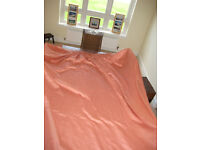 "Hand made heavy duty curtains fully lined 108"" (275cm) drop x 90"" wide"