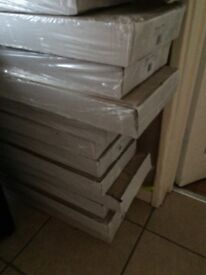 15 boxes of pine wooding floor