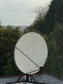 Chanel master 1.2 meter motorised Satellite dish