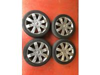 "Renault Clio 182 16"" Alloy Wheels."