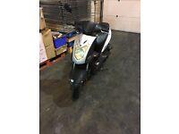 Kymco agility 50cc Silver 07 plate