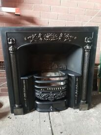 Stovax Open Fire Cast-Iron Arched Insert