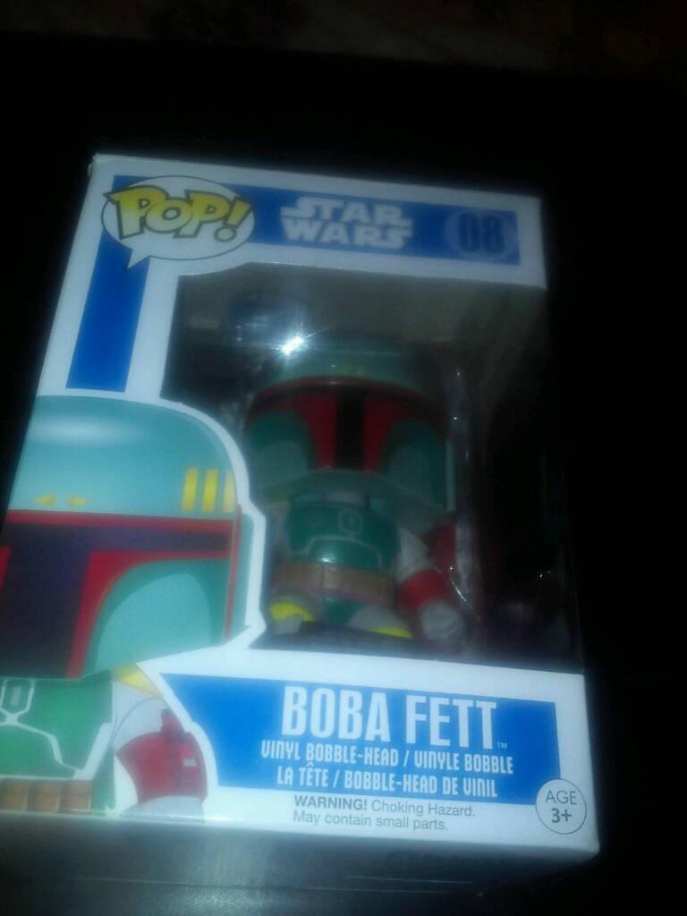 Star Wars Boba Fett Funko Pop Figure