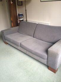 Bo Concept sofa and armchair