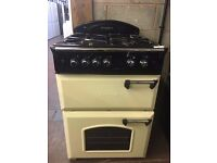 60CM CREAM LEISURE GAS COOKER