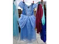 Child's Disney princess dress up all original Disney store