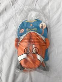 Little life clownfish daysack with rein - brand new