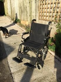 Karma Folding Wheelchair