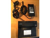 Dell Pro3X Laptop Dock with power supply
