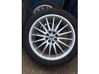 "17"" alloys 4x100 4x108 Renault bmw Honda ford"