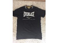 EVERLAST mens t-shirt size medium used once mint condition !
