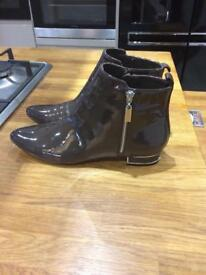 Ladies Next Boots size 6 1/2 wide fit new