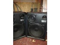 MAJ 400W Speakers