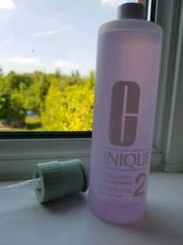 Clinique toner 487ml with pump