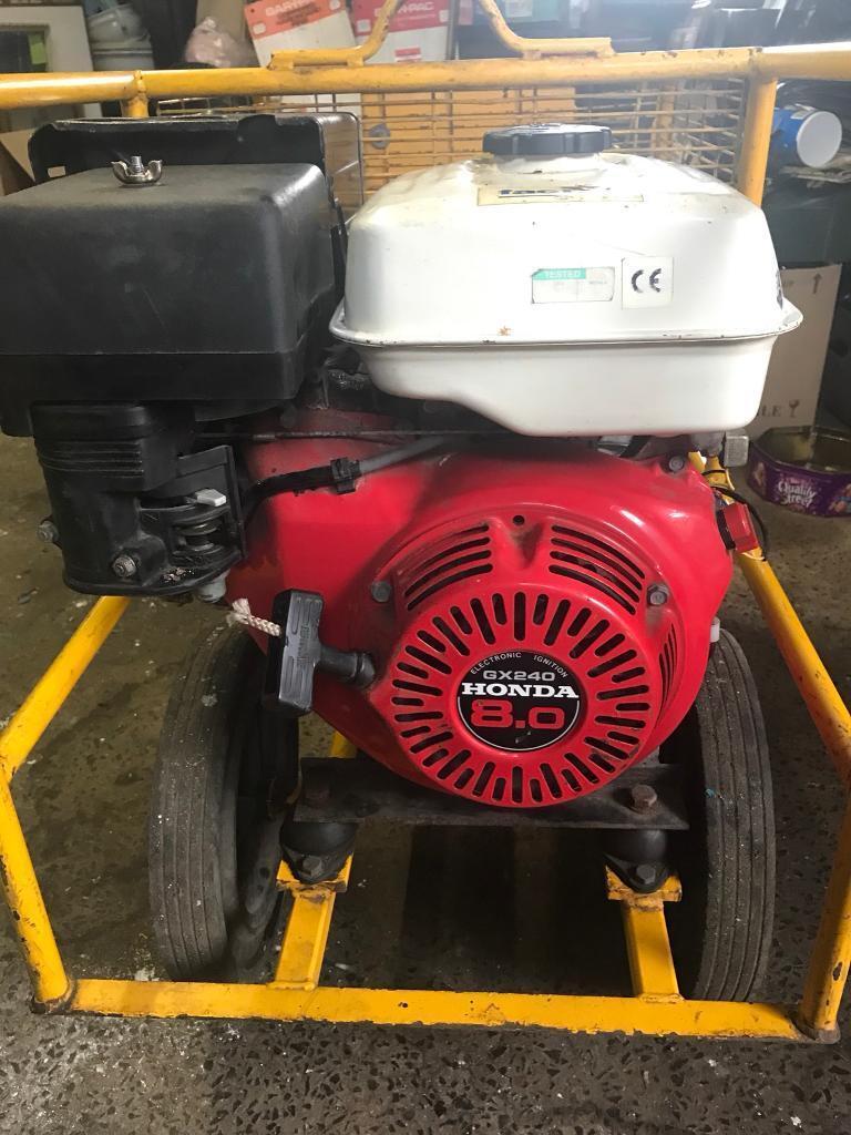 Honda factair compair mobile vane air compressor.