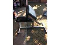Preacher bench