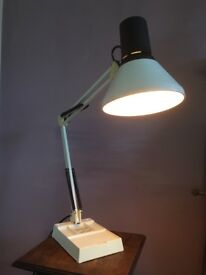 Vintage Angle Poise Light, Working, Table Light, Desk Light