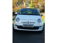 REDUCED PRICE Fiat 500 1.2 Lounge 3dr Immaculate Condition