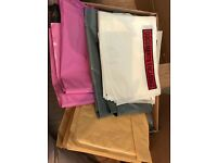 Postage mail bags sacks boxes envelopes joblot