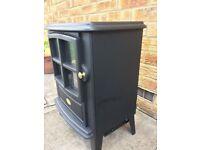 'DIMPLEX' 2 KW Electric stove room heater in a black matt finish.